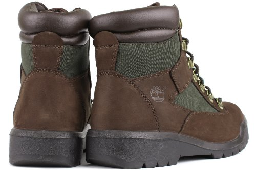 Timberland Uomo 6 In Campo Boot Marrone / Verde