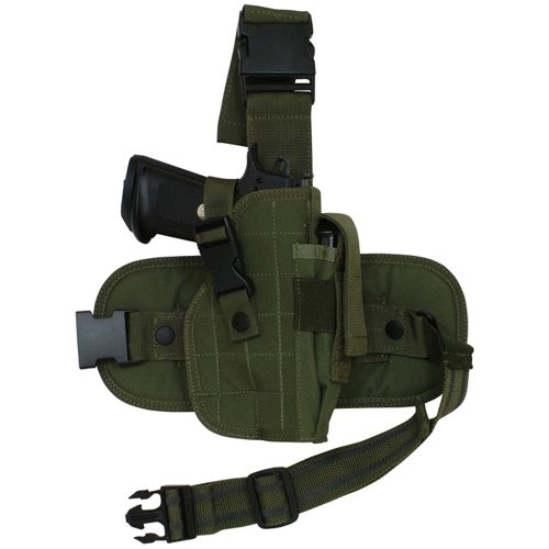 (Fox Outdoor Products Mission Ready Drop Leg Holster, Olive Drab)