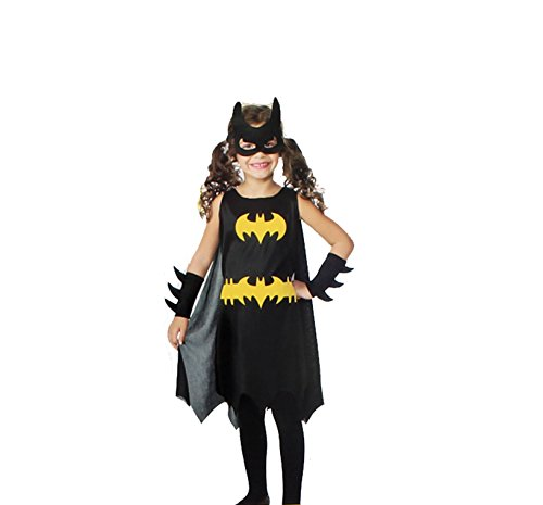 [DC Comic Batgirl Child Costume (Small)] (Catwoman Costume For Girls)