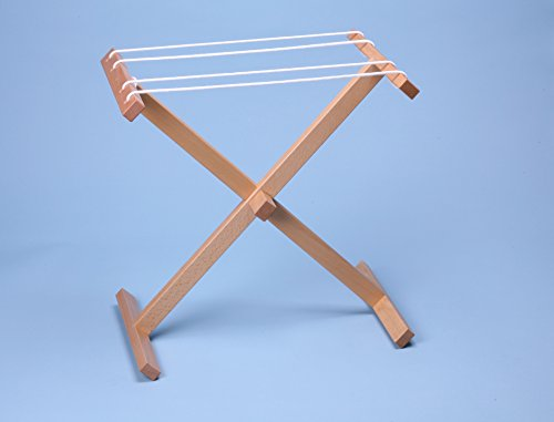 Montessori Clothesline Wooden Drying Rack/ Or Paint Rack