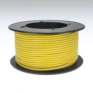Kabel 1,5 qmm gelb 25m Litze Leitung Fahrzeug Auto