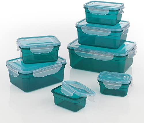 GOURMETmaxx Set of 7 Food containers