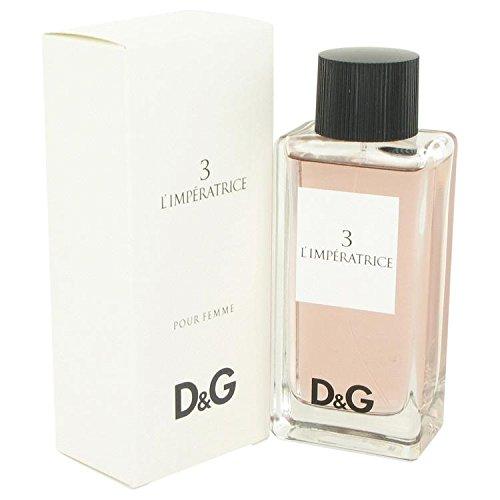 L'Imperatrice 3 by Dolce & Gabbana Eau De Toilette Spray 3.3 oz for Women - 100% Authentic