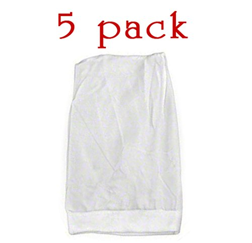 5 Pack Pool Filter Saver Skimmer Basket Sock Sleeve Mesh Screen Net