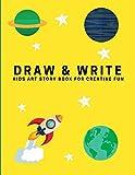Draw and Write: Kids Art Story Book For Creative Fun, Sunshine Yellow (Creative Writing for Kids)