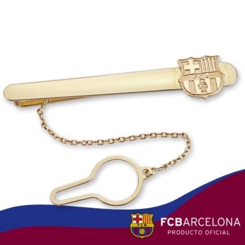 Oro corbatas recto 9 K FC Barcelona.: Amazon.es: Joyería