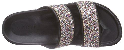 090 Sandals Silber Toe ESPRIT WoMen Silver Glitter Open Silver Monica 8wgpPq6