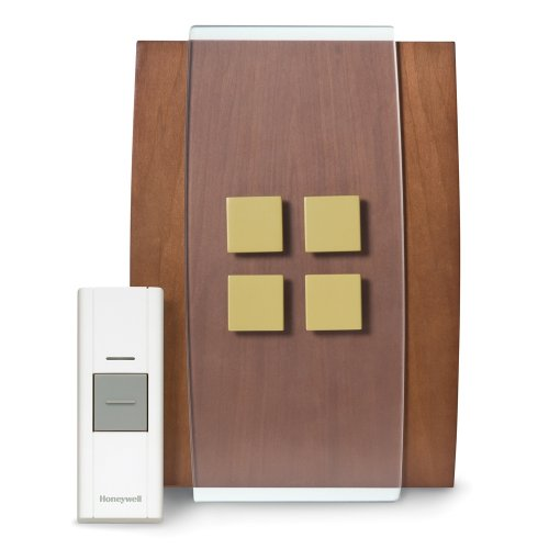 Honeywell RCWL3506A1003/N Decor Wireless Doorbell / Door Chime and Push Button