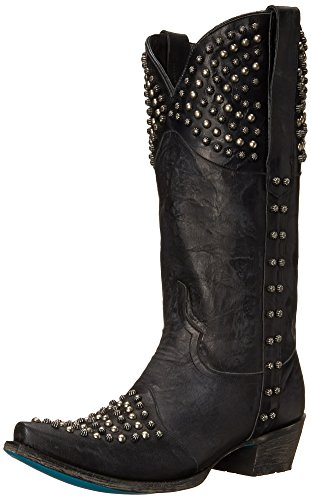 Lane Boots Women's Rock On Western Boot - Black - 7 B(M) US