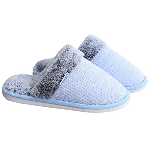 Interno Unisex Addensare Casa Maglia all'aperto Scivolo Inverno Accogliente Caldo Anti Blue Morbido Stoffa Scarpe Cotone A Pantofole Felpa XwRxq6f