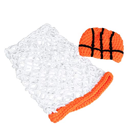 YeahiBaby Baby Photography Prop Basketball Outfits Headband