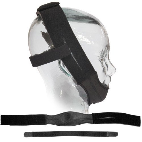 Sunset Deluxe Chin Strap Black (Cpap Supplies Chin Strap)