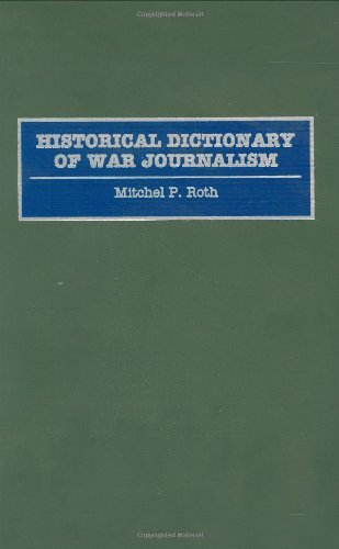 Historical Dictionary of War Journalism Pdf