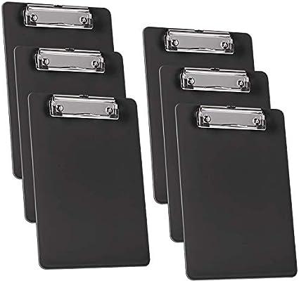 formato A5 Acrimet Memo Portablocco con clip a basso profilo 22,9 x 16,5 cm confezione da 6