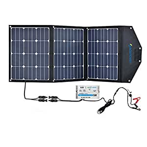 Amazon Com Acopower 12v 105w Portable Solar Panel Kit