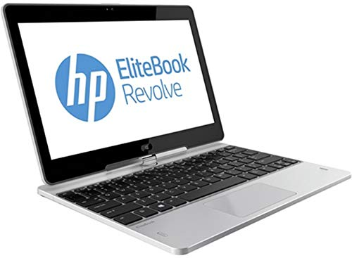 "HP EliteBook Revolve 810 G2 Tablet 11.6"" Touchscreen Business Laptop Computer, Intel Core i5-4200U Up to 2.6GHz, 8GB RAM, 256GB SSD, 802.11ac WiFi, USB 3.0, Windows 10 Professional (Renewed)"