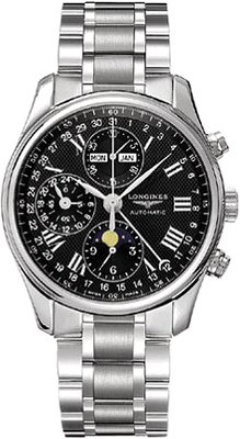 Longines Master Collection Chronograph Mens Watch (Longines Moon Phase)