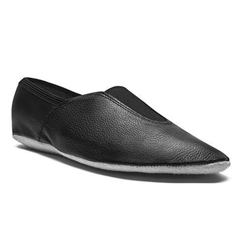 Ballett Chaussure Fitness Danse Gymnastique Semelle Noir 1040 Sport cuir En Entière Rumpf Cuir Gomme De Voltige 5Yqwfp4x