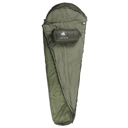 10T Mummy sleeping bag ARCTIC SPRING up to -16C 1700g by 10T Outdoor Equipment