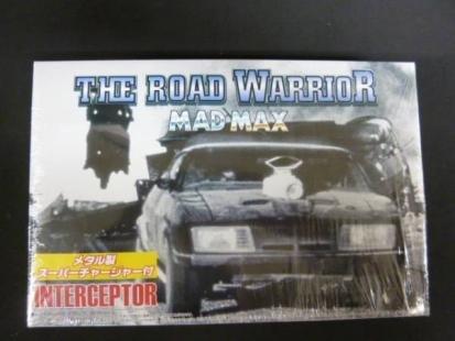 Aoshima MADMAX interceptor THE ROAD WARRIOR 1//24 with Metal supercharger Limited Edition Aoshima Bunka Kyozai