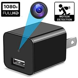 Spy Camera - Hidden Camera - Surveillance Camera - HD 1080P - Mini Spy Camera - Spy Cam - USB Hidden Camera - Nanny Camera - Best Spy Camera Charger - Hidden Camera Charger - USB Camera - Secret Camer