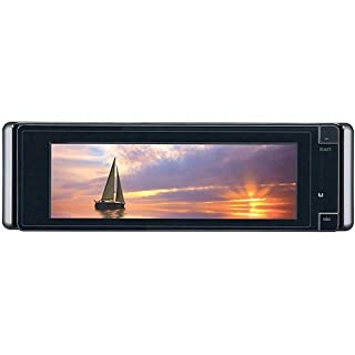 jvc kd-avx77 el kameleon dvd/cd/usb receiver with 5 4-inch monitor,  proximity sensor, touchscreen controls, built-in bluetooth, ipod/iphone usb  2 0