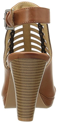 Rich Laundry Burnished Women's Brown by Waves CL Chinese Dress Sandal 0qUEzOWS