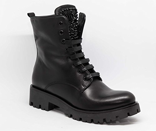 Tosca Blu Schwarze Shoes Schnürboots SF1713S245-38