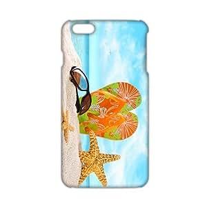 Cool-benz Artistic beach and starfish 3D Phone Case for iPhone 6 plus WANGJING JINDA