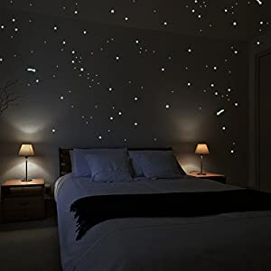Amazon.com: Wandkings® Wall Stickers A Starry Night with
