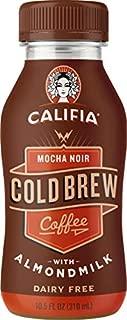 product image for Califia Farms - Mocha Noir Cold Brew Coffee with Almond milk, 10.5 Oz, Non Dairy, Plant Based, Vegan, Non-GMO