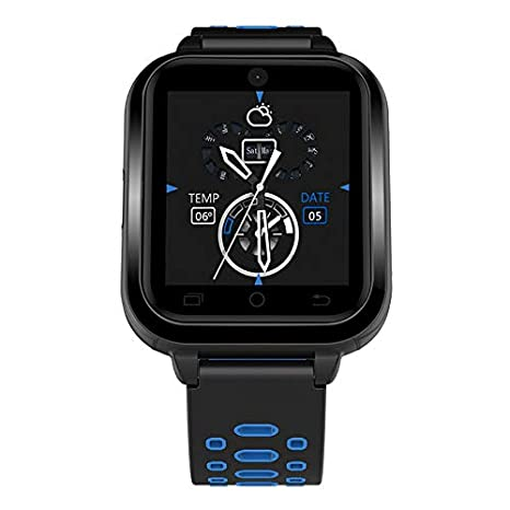 Finow Q1 Pro Android Smart Watch 4G 1.54 Inch Touch Screen Pedometer 2MP Camera: Amazon.es: Relojes