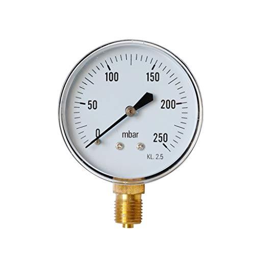 (m·kvfa Pressure Gauges Barometer Oil Pressure Gauge Water Pressure Gauge for Mining Home Heating Household Pressure Measurement)