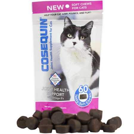 Cat Joint Health Supplement - Cosequin for Cats Soft Chews (60 Chews)