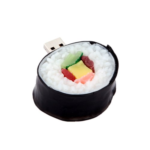 HDE 8GB Food Snack Dessert Shaped High Speed USB Flash Thumb Drive Memory Stick (California Roll)