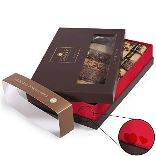 Chain & Jo Sweets, Biscotti Gift Box, Valentine