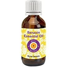 Deve Herbes Pure Benzoin Essential Oil (Styrax benzoin) - 5 ML (0.16 oz)