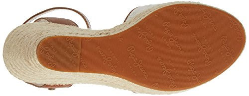 Pepe Jeans Women's Walker Anglaise 17 Sandals White (White) sY4X5a2