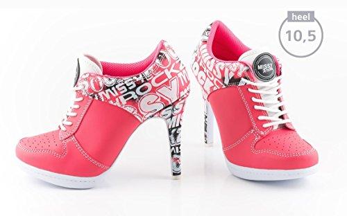 De Missy Con Flamenco Para Color Botas Rosa Diseño Mujer Rockz gpwgqrY