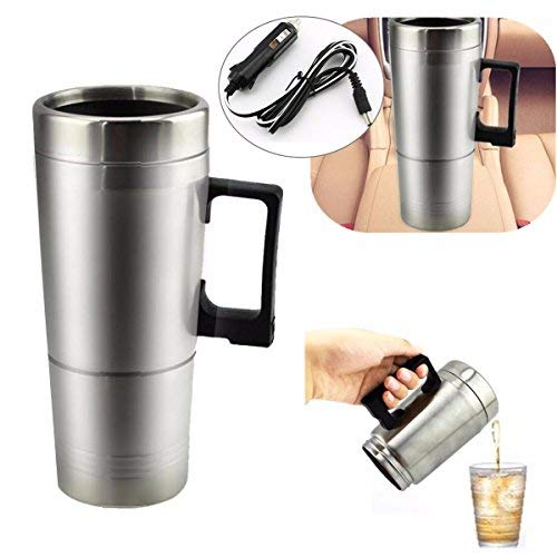 - NGEXT-25-11 - Car Water Soup Tea Coffee Baby Bottle Heater Boiler Car Heater Cup Tea Pot Portable New Auto Electric Device 12V 300MLx