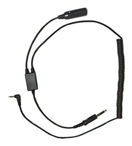 Digital Audio Recorder Adapter for GA Aviation Pilot Headsets