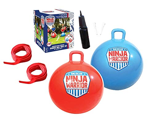 (American Ninja Warrior Bounce Ball Set )