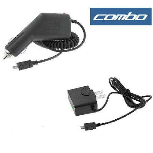 Rapid Car Charger with IC Chip + Home Travel Charger for Sprint Palm Treo 800w Smartphone