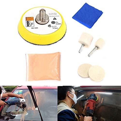 MAyouth Fai Da Te di Vetro Kit di Riparazione della Graffiatura Auto di Lucidatura di Vetro Kit Parabrezza Finestra Graffi Remover Repair Tool