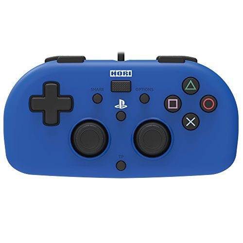 (Hori SONY Licensed Wired Controller Light Small Blue for PS4)
