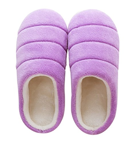 Cattior Womens Coral House Shoes Warm Slippers Purple ib6L1tYq