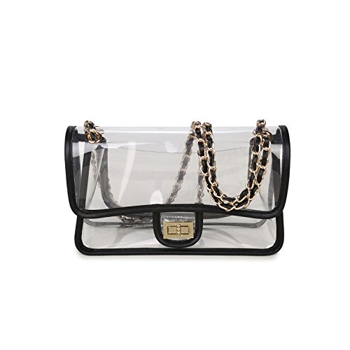 Lam Gallery Womens Clear Purse Handbags NFL Stadium Approved Bags For Football  eBay