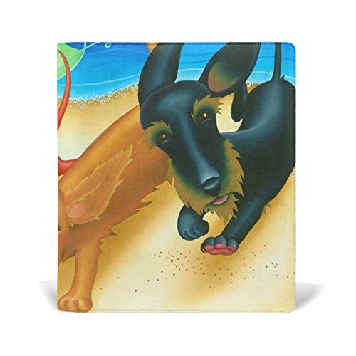 Dogs 11 Adhésif Cuir Duchshung X Relié Pu 9 Sox Manuels La Libre Protector Pouces Jusqu'à Plupart 11 Livre Des Fits Multicolore Book Livre Coosun École Stretchable Cover 5aTW5npA