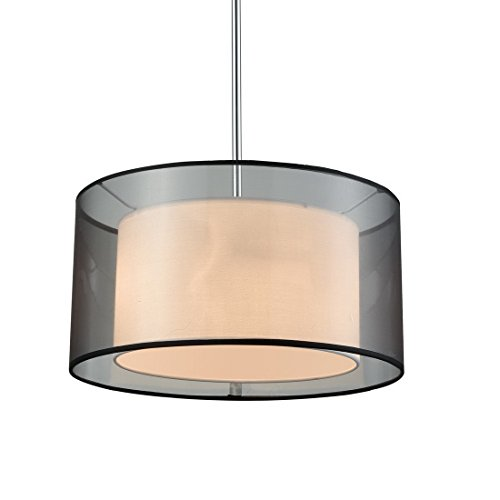 Double Drum Shade Pendant Lights in Florida - 4