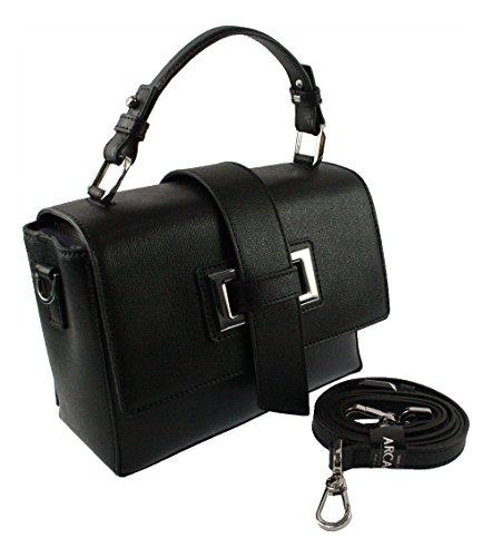 noir à Sac Noir pour main noir Arcadia femme S6XFq5cwf